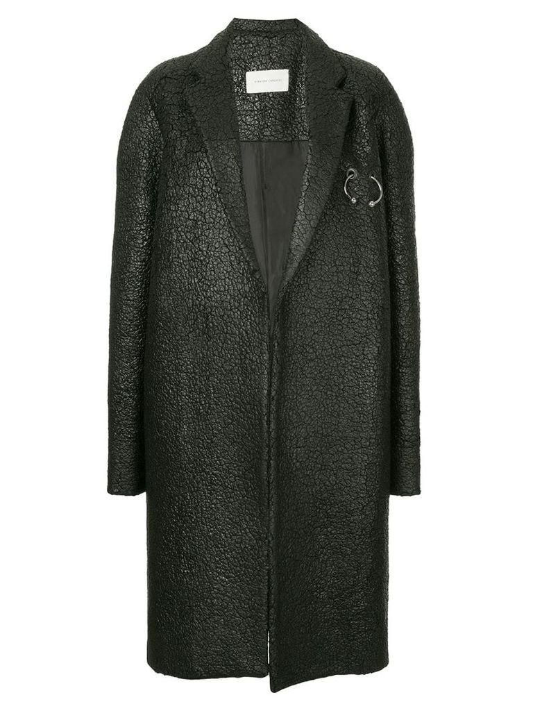 Strateas Carlucci Sterile coat - Black