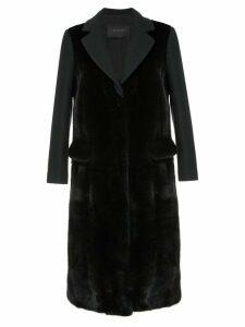 Blancha long winter coat - Blue