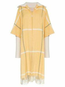 Roksanda Leisha Blanket Coat - Yellow