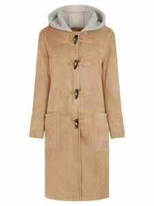 Mackintosh Beige Shearling Duffle Coat - Neutrals