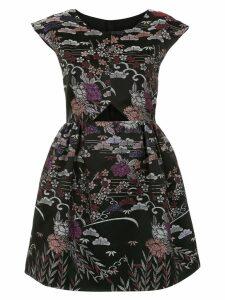 Framed Tokyo flared dress - Multicolour