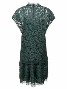 Adam Lippes double layer midi dress - Green