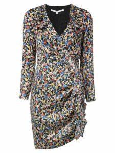 Veronica Beard floral print mini dress - Multicolour