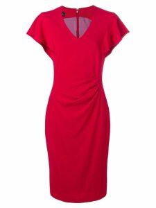 Talbot Runhof Norlin dress - Red
