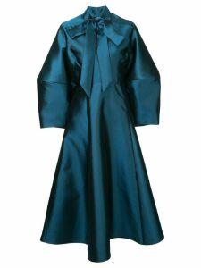 Greta Constantine oversized midi dress - Blue