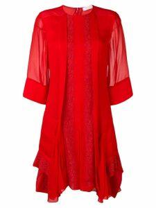 Chloé lace dress - Red