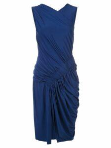 Jason Wu Collection gathered sleeveless dress - Blue