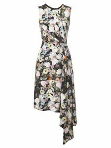 Adam Lippes floral print midi dress - Multicolour