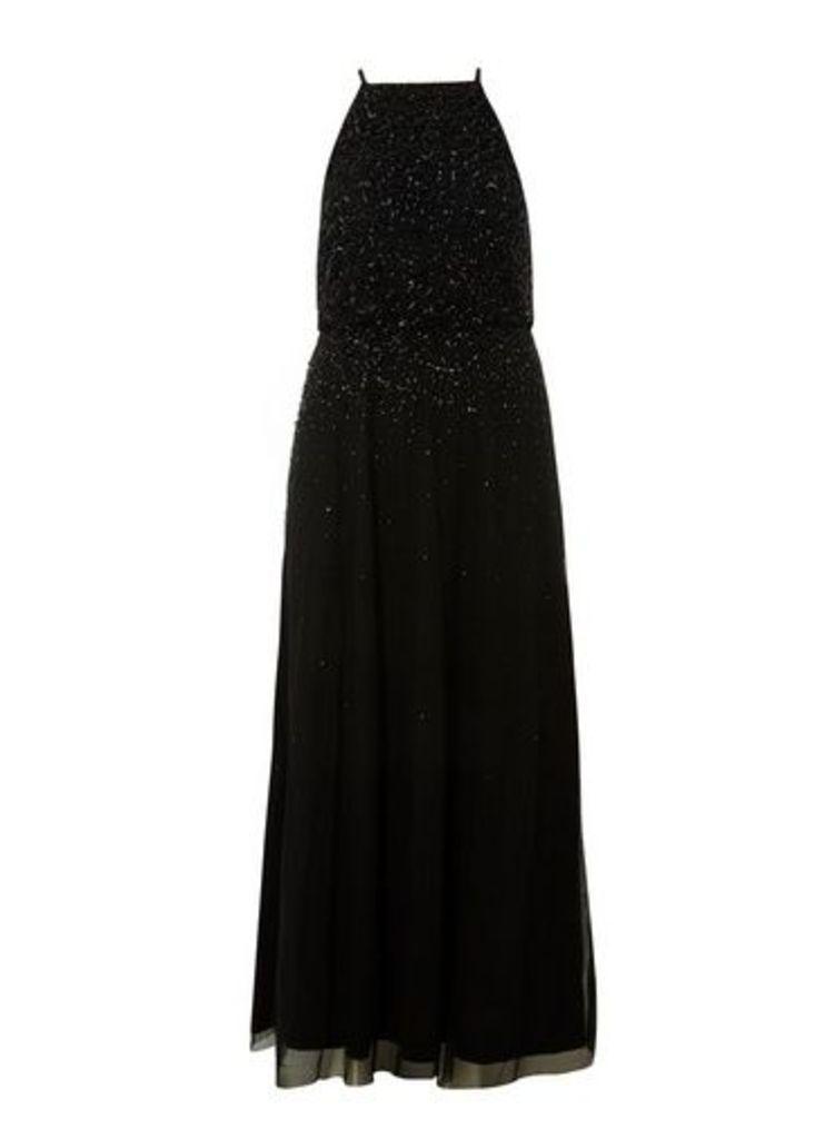 Womens **Showcase Black 'Ava' Maxi Dress- Black, Black