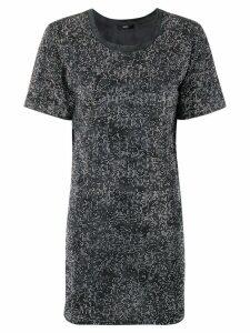 Diesel All-over stud T-Shirt dress - Grey