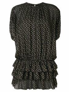 Saint Laurent fil coupé dress - Black