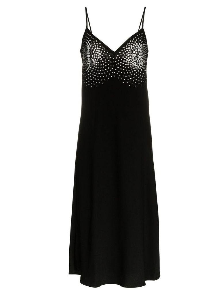 Ellery Honneur metal embellished midi dress - Black