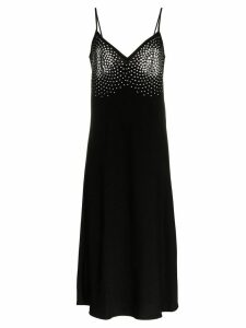 Ellery Honneur metal embellished midi dress - Black