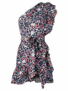 Isabel Marant Étoile ruffled mini dress - Blue