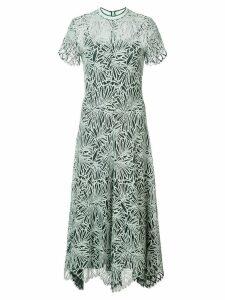 Proenza Schouler Lace Short Sleeve Dress - SPEARMINT