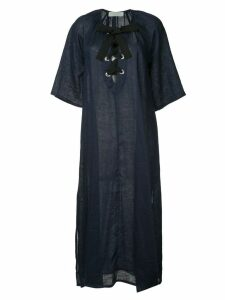 The Upside laced front maxi dress - Blue
