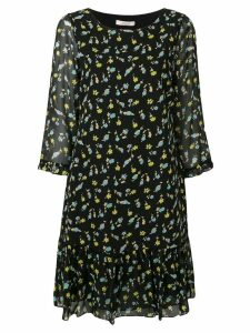 Dorothee Schumacher Nightfall Meadow printed dress - Black