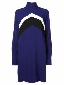 Derek Lam chevron dress - Blue