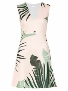 Osklen Anturio printed dress - Pink