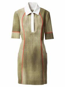 Fendi polo collar dress - Green