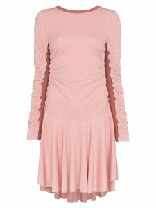 See By Chloé ribbed panel mini dress - Pink