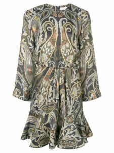 Chloé paisley-print dress - Grey