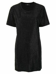 Diesel crystal-embellished T-shirt dress - Black