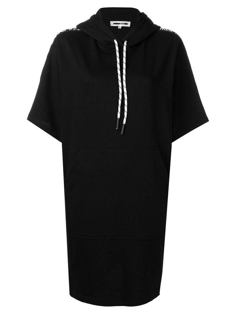 McQ Alexander McQueen short-sleeve sweater dress - Black