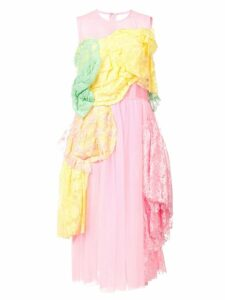 Comme Des Garçons layered lace dress - Pink