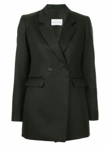 Strateas Carlucci double breasted fitted blazer - Black