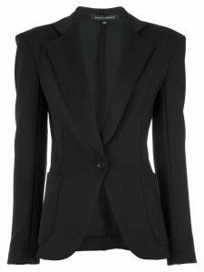 Gloria Coelho panelled blazer - Black