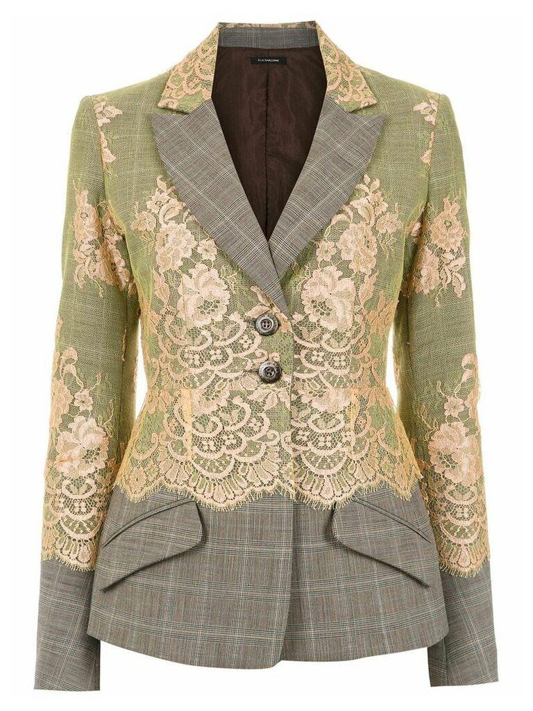 À La Garçonne wool blazer - Multicolour