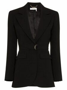 Chloé single breasted D ring blazer - Black
