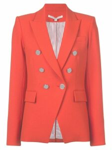 Veronica Beard Miller six button blazer - Red