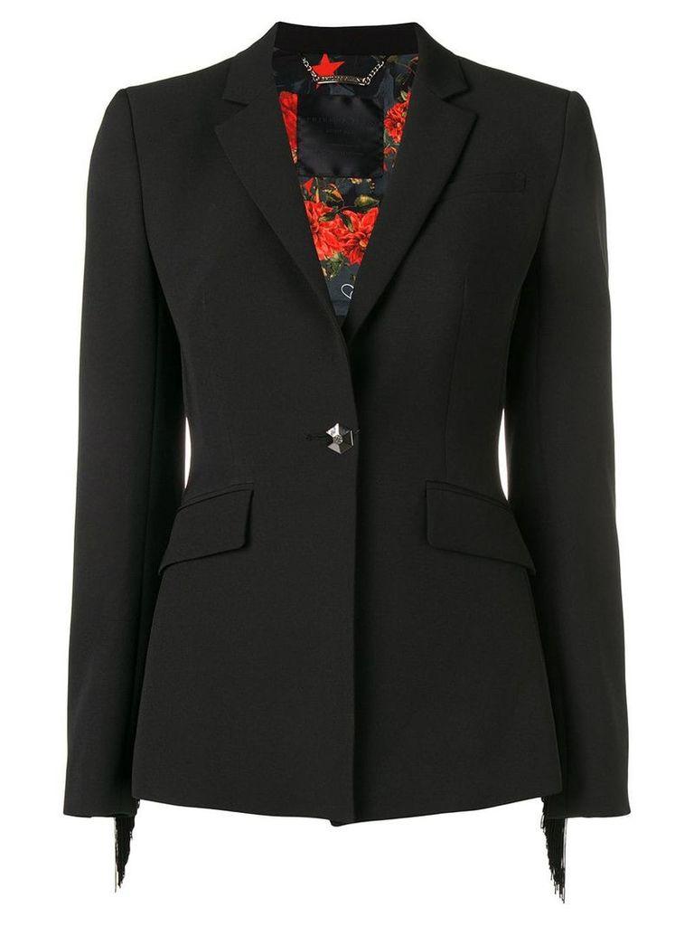 Philipp Plein fringed blazer - Black