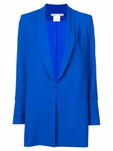 Alice+Olivia shawl collar oversized blazer - Blue