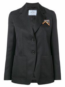 Prada classic blazer - Black