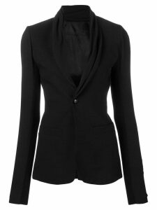 Rick Owens fitted blazer - Black