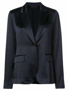 Nili Lotan straight fit blazer - Blue