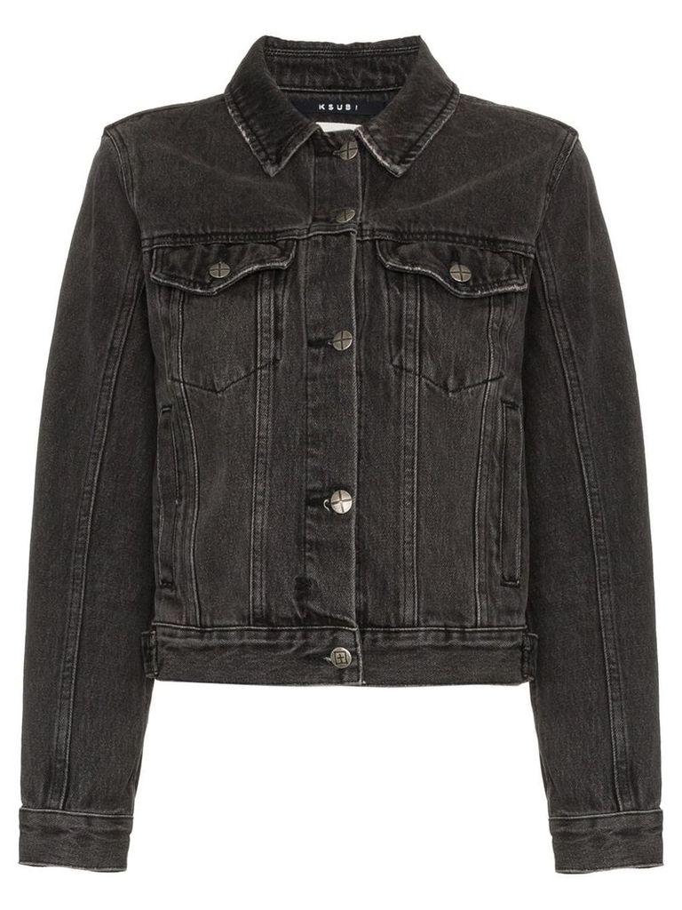 Ksubi Classic Denim Jacket - Black