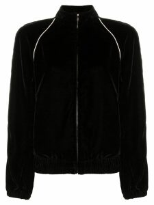 Philosophy Di Lorenzo Serafini contrast piping velour track jacket -