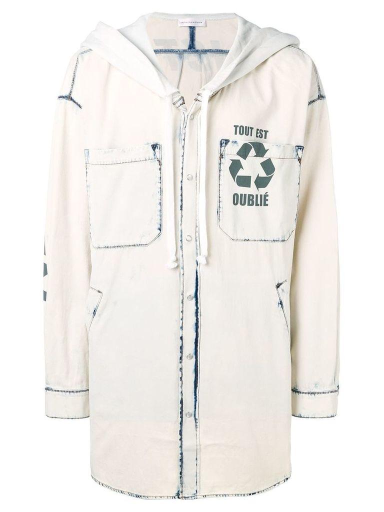 Faith Connexion hooded parka jacket - Neutrals