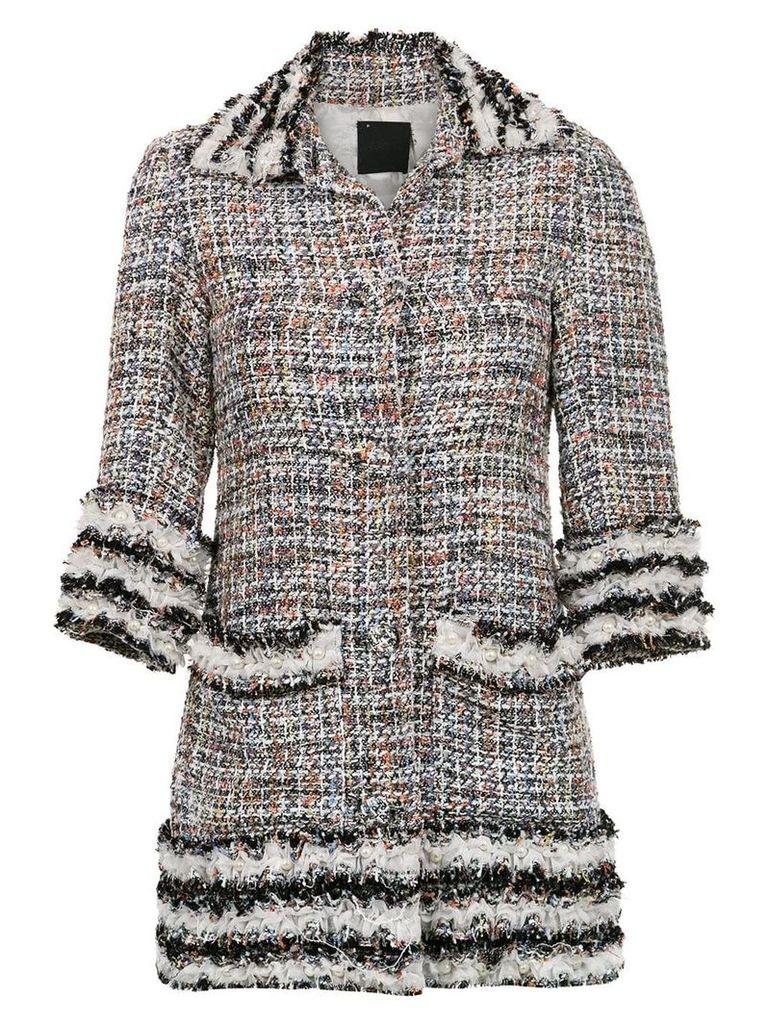 Andrea Bogosian tweed jacket - Grey