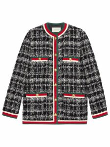 Gucci Tweed Jacket - Black