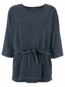 Olympiah wide blouse - Blue