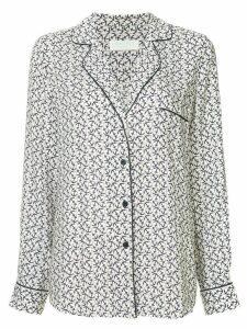 The Upside anchor print pyjama shirt - White