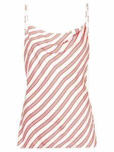 Rebecca Vallance Marrakech stripe top - Red