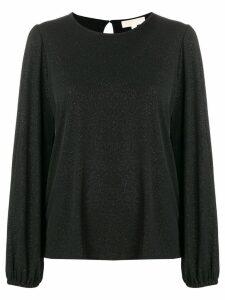 Michael Michael Kors glitter effect blouse - Black