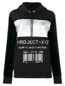 Philipp Plein XYZ Code hoodie - Black