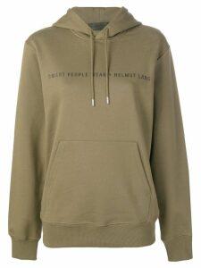 Helmut Lang Smart People hoodie - Green